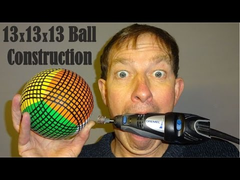 How to make a 13x13x13 Ball puzzle by Tony Fisher