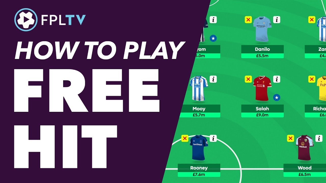 How To Use The Free Hit Chip Fantasy Premier League Fpl Tutorial