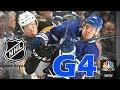 Boston Bruins vs Toronto Maple Leafs. 2018 NHL Playoffs. Round 1. Game 4. 04.19.2018 (HD)