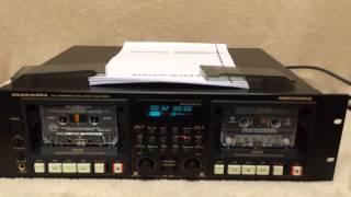 Marantz PMD520 Double Cassette Deck