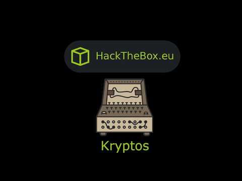 HackTheBox - Kryptos