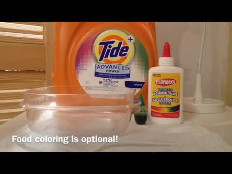 Learn how to make slime with laundry detergent and glue with easy step how to make slime with laundry detergent and glue ccuart Image collections
