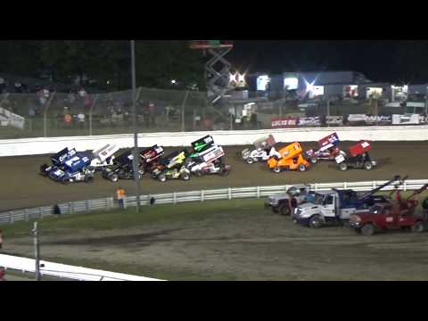 Skagit Speedway, Dirt Cup 2017, Night 1, ASCS National Series B-Main 1 and 2