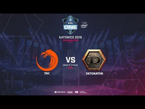 DeTonaTor vs TNC - ESL One Katowice - Game 1