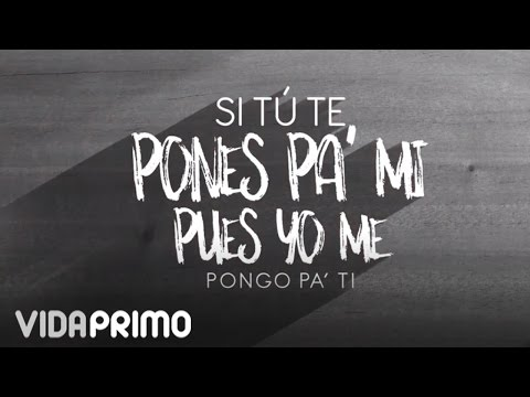"Ñejo - Ponte Pa' Mi ft. Jamby ""EL Favo"", Mr. D [Lyric Video]"