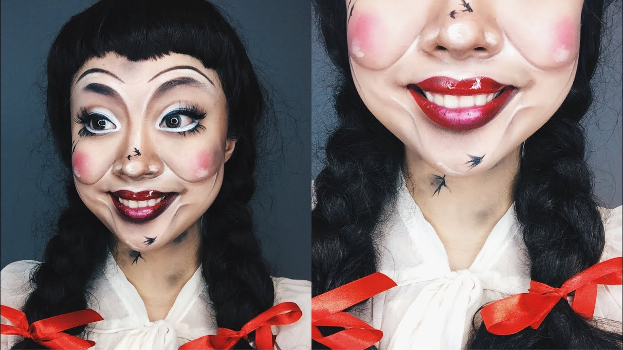 Get The Look Conjuring Annabelle Doll Makeup Tutorial