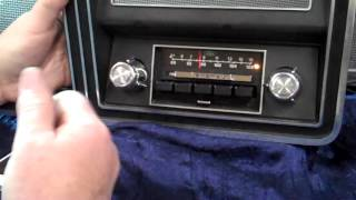 1973-79 Ford Truck original AM/FM radio