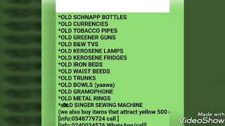 Old Shnapp Bottles needed