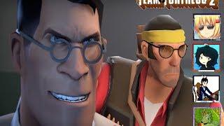 Teamfortress 2  #3 /Con Nekori, Tenma y Xziled | Doctor, Doctor Please!