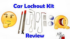 Universal Lock Out Tool Set ? Open Cars - Locksmith Review