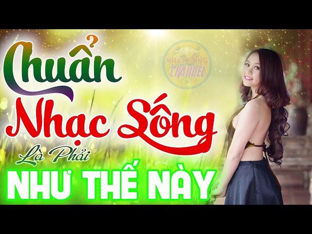 MẤT TIỀN CHƯA CHẮC ĐƯỢC NGHE - Chuẩn Nhạc Sống Là Phải Như Thế Này - Lk Cha Cha Cha MC Thanh Ngân