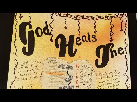 Bedtime Bible Reading & Journaling - Various Scriptures for Healing For The Broken Hearted