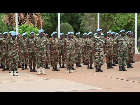 UN-Blauhelmsoldaten übernehmen in Mali