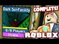 FINALLY BEATING DARK SCI FACILITY IN FLOOD ESCAPE 2!! (Roblox)
