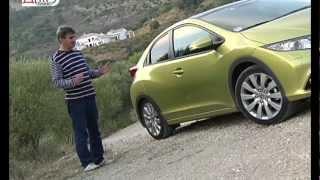 2012 Honda Civic 5D 9-го поколения / Тест-драйв