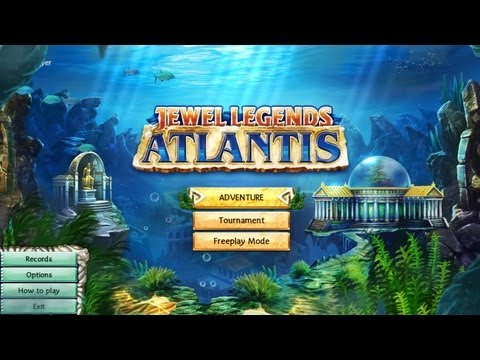 Jewel Legends: Atlantis Gameplay & Free Download | HD