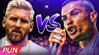 Download RONALDO VS MESSI RAP BATTLE MP3 song and Music Video