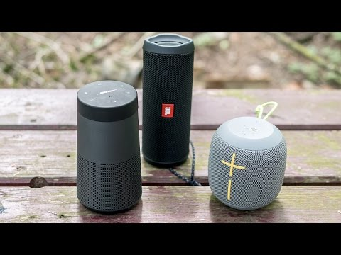Bose Soundlink Revolve - outdoor soundcheck
