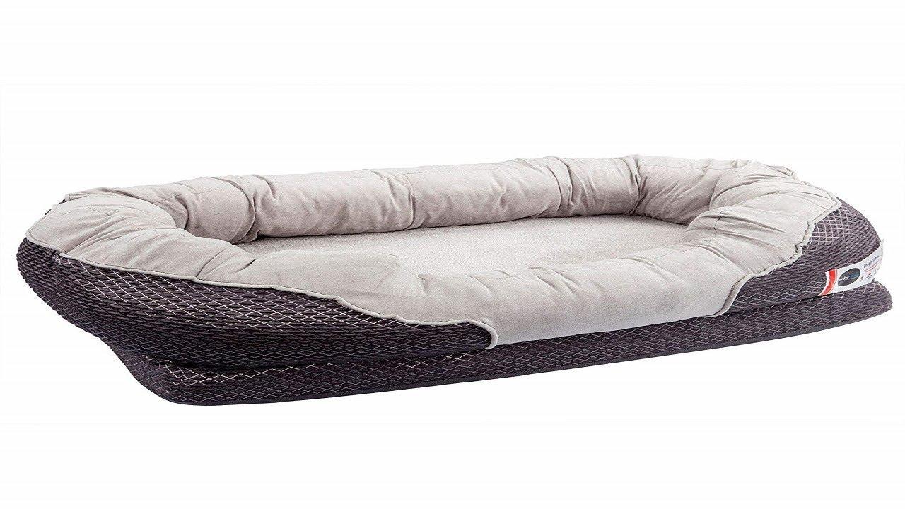 Barksbar Gray Orthopedic Dog Bed Barksbar Gray Orthopedic Dog Bed