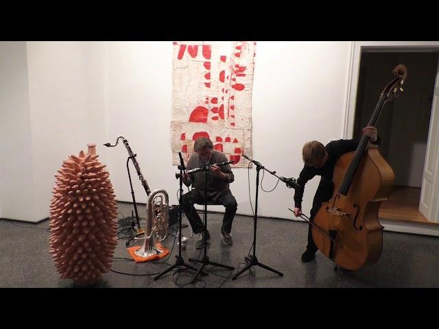 Udo Schindler/Jonas Gerigk Duo live in der Münchener Galerie Artoxin, Teil 2