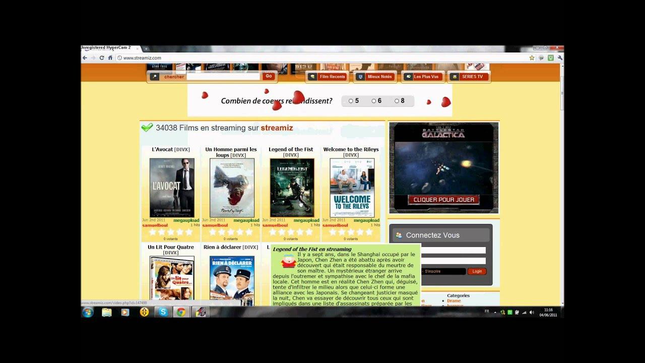 ?comment regarder des film sur internet GRATUITEMENT?