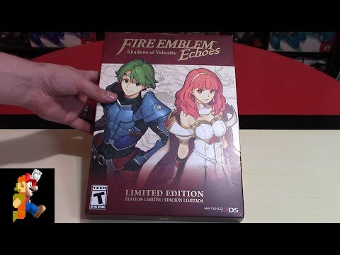 Unboxing Fire Emblem Echoes: Shadows of Valentia Limited Edition