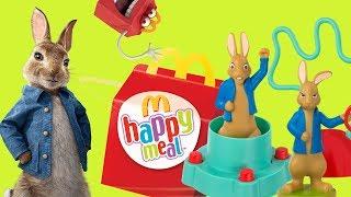 Piotruś Królik • Happy Meal • zabawki + film = extra zabawa • McDonalds 2018