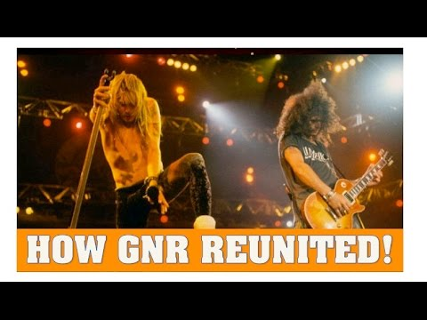 How Duff Mckagan Reunited Guns N' Roses (Axl and Slash)
