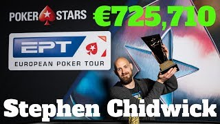 Stephen Chidwick WINS the €50k SUPER HIGH ROLLER at EPT PRAGUE