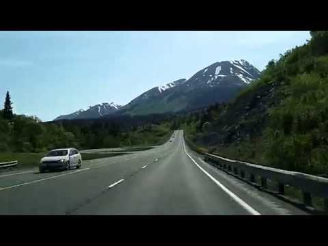 The Drive to Kenai Peninsula from Anchorage: Seward Highway, Turnagain Arm