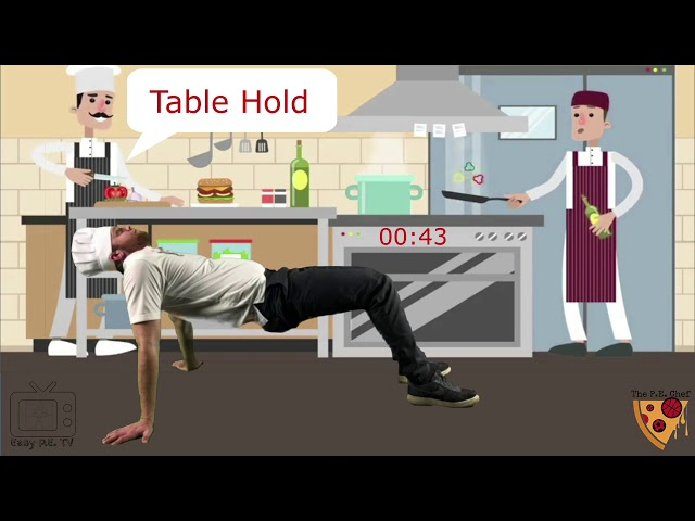 PE Chef S3E4 One Minute Workout