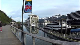 Holland America Nieuw Amsterdam Cruise to Alaska May 11 - 18, 2019 Juneau Waterfront