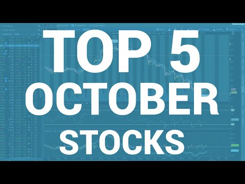 The Top 5 Best Stocks For October 2017 | Day Trading 101