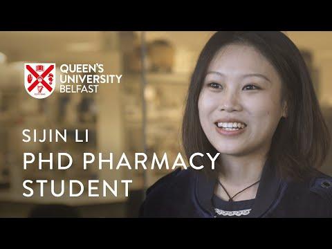 PhD Pharmacy Student - Sijin Li
