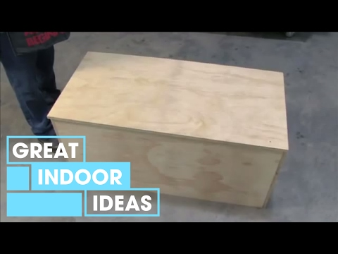 Better homes and gardens how to build a storage chest Build your own toy chest