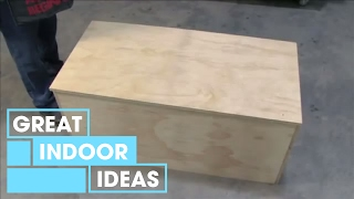 Join Peter as he shows you how to build a basic storage chest. Welcome to the official Great Home Ideas channel, the destination