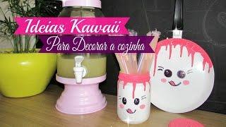 IDEIAS KAWAII PARA DECORAR A COZINHA | Carla Oliveira
