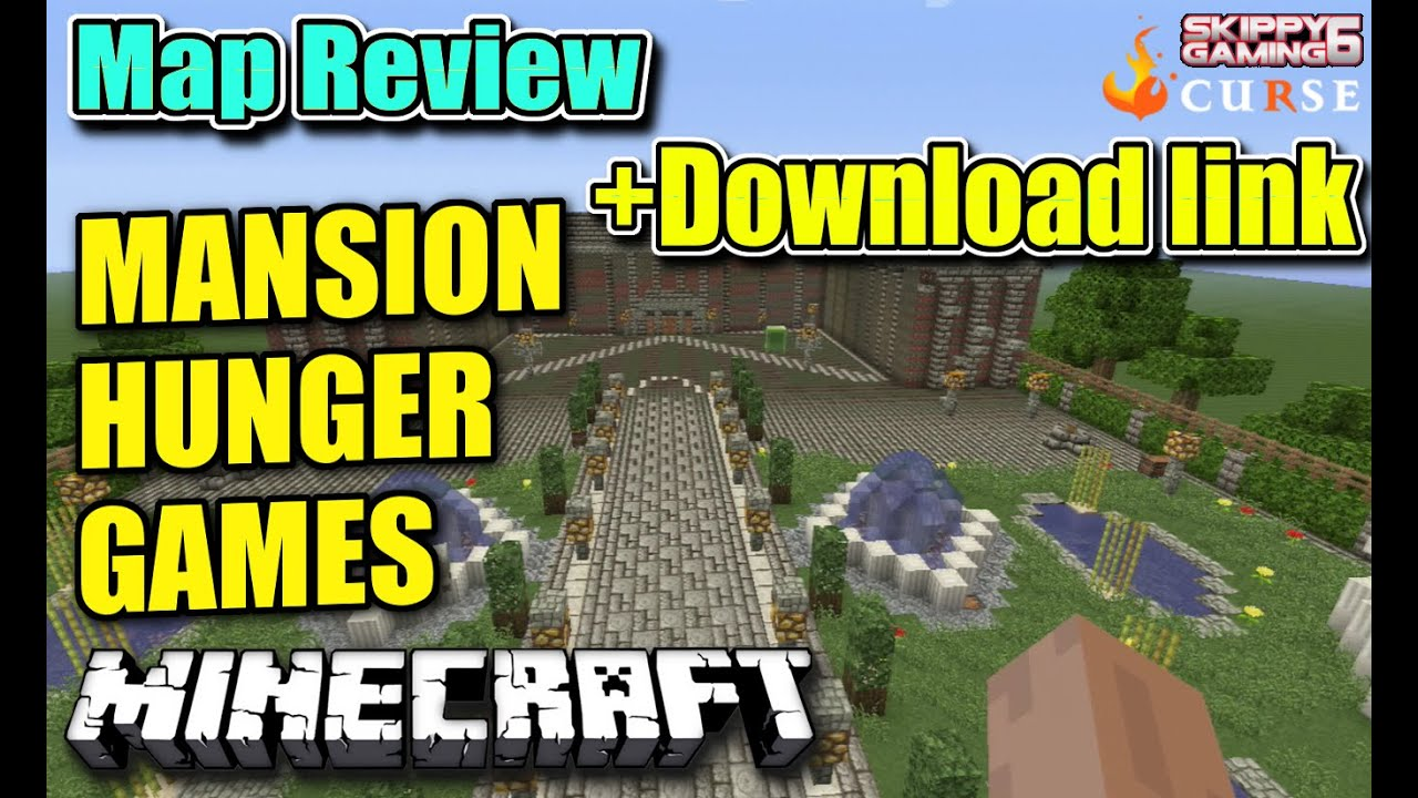 Minecraft Ps3 Mansion Hunger Games Map Review Download Link Ps4 Server Update Youtube