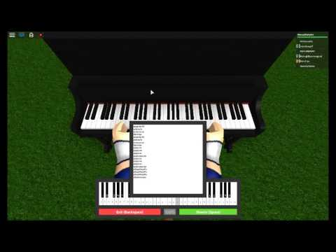 learn how to piano roblox
