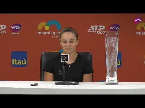Ashleigh Barty | Miami Open 2019 Final | Press Conference
