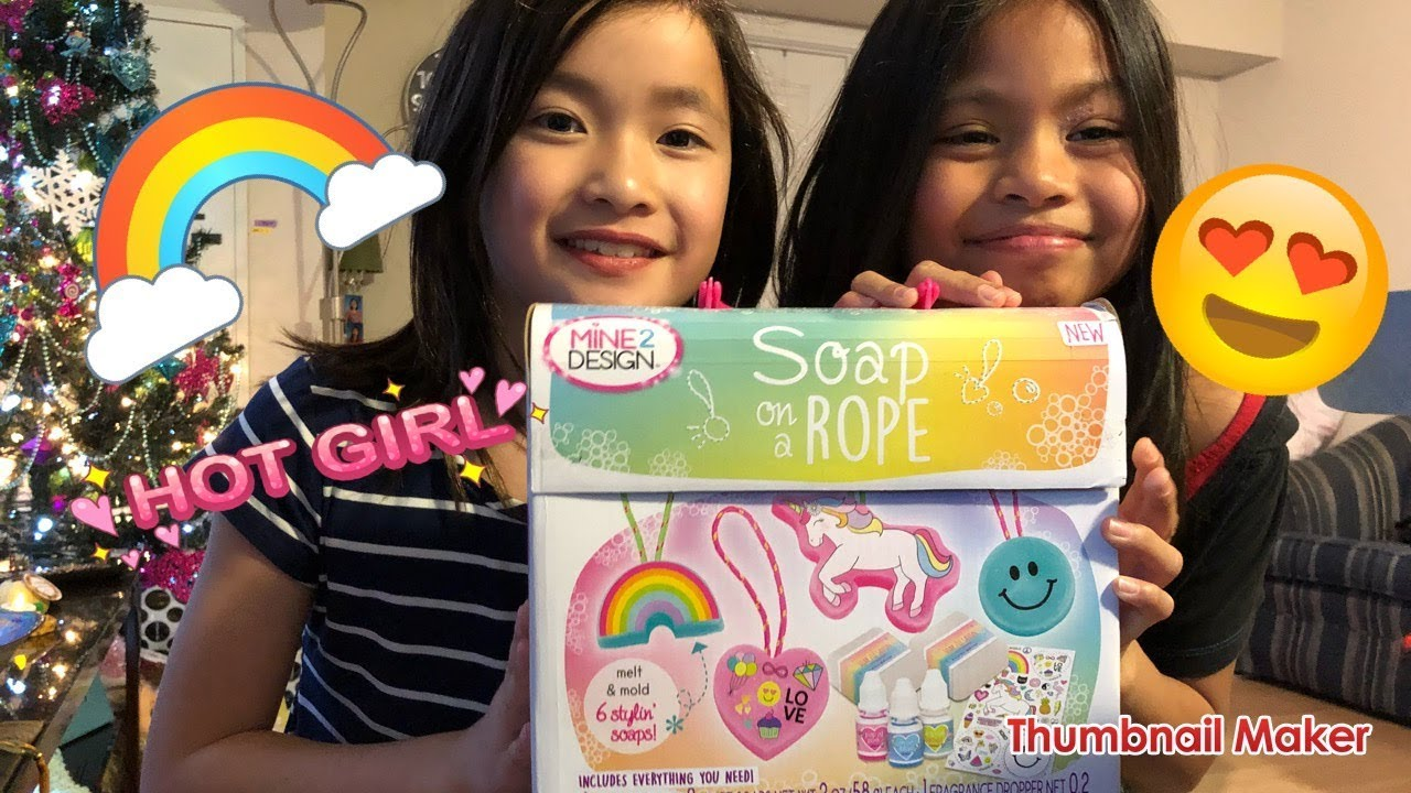 Soap on a rope fun soap making for kids diy cute soap for Soap craft for kids