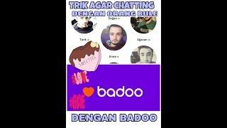 CARA SET BADOO KE BULE || BADOO CHATTING