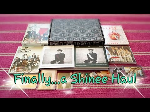 Finally….another Shinee haul