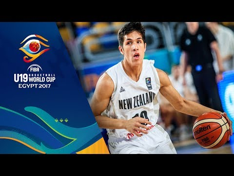 New Zealand v Egypt - Full Game - CL 11-12 - FIBA U19 Basketball World Cup 2017