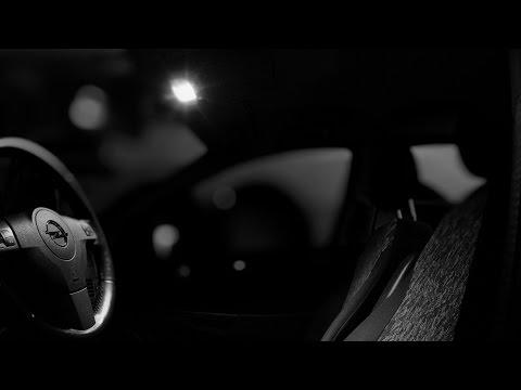 Opel Astra H żarówki Led Wymiana Oświetlenia Podsufitki