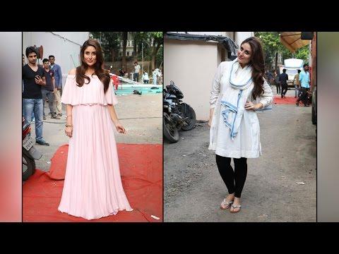 Kareena Kapoor shoots new Ad with baby bump in Mehboob studio, see beautiful pics | Filmibeat