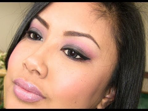 Holiday Look #1 :: Smoky Black & Pink (feat. Wet'n'Wild!)