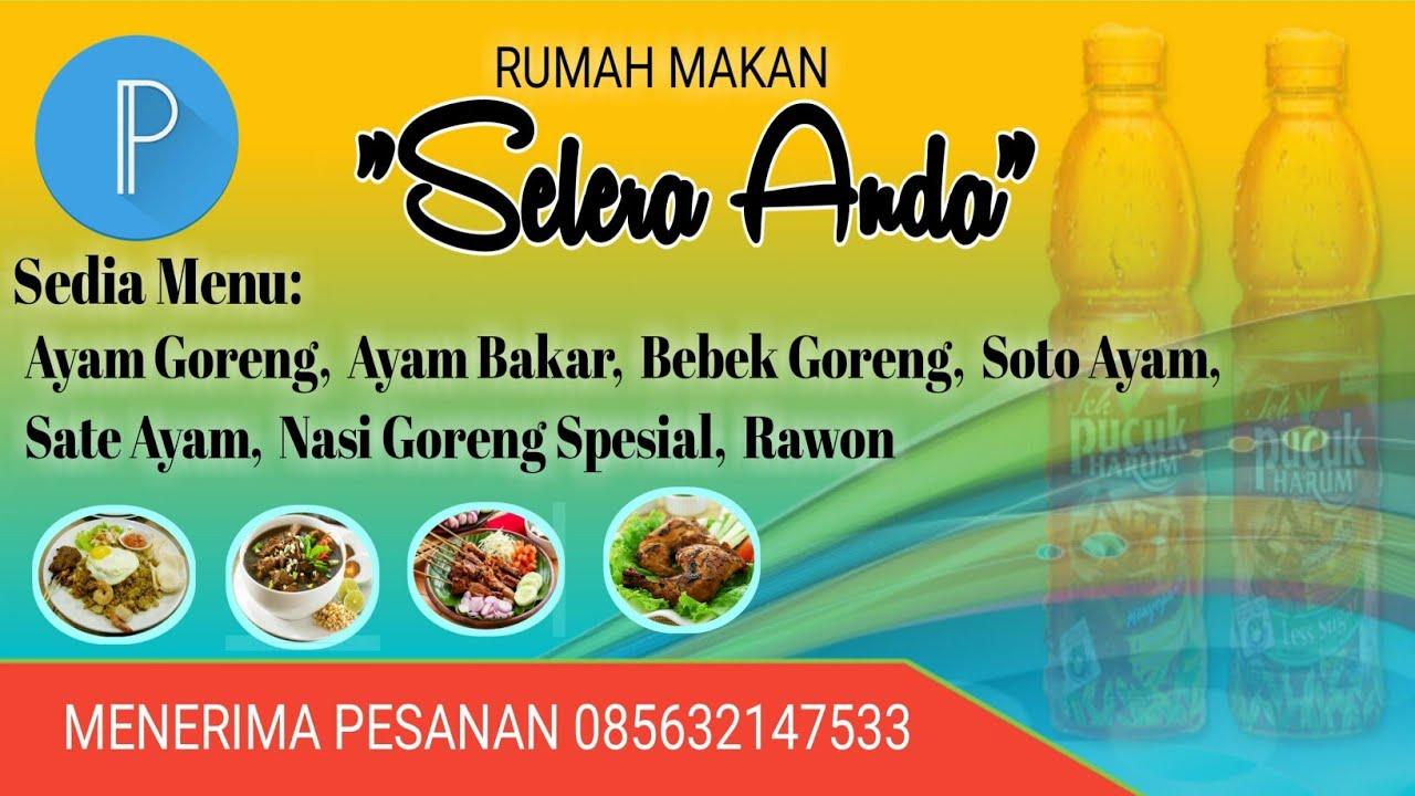 Contoh Desain Banner Menu Makanan - desain banner kekinian