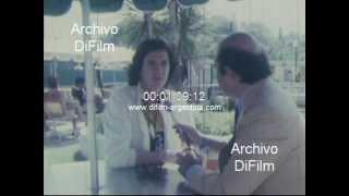 Jorge Jacobson entrevista a Camilo Sesto en Buenos Aires 1981