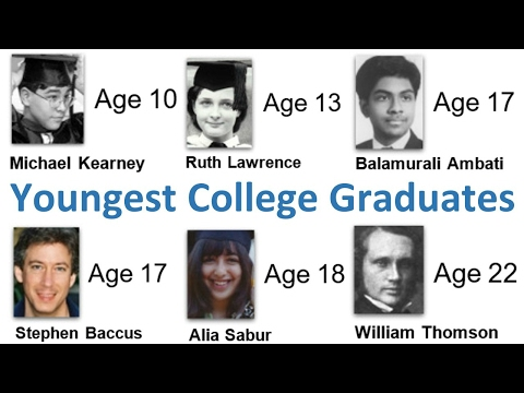 Youngest College Graduates